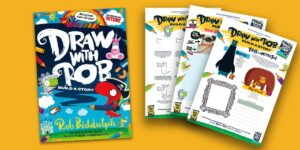 Draw With Rob: Build a Story activity sheets