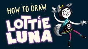 How to Draw Lottie Luna