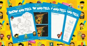 Show and Tell activity sheets