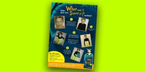What Was I Scared Of? Halloween Costume Activity